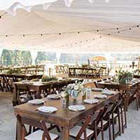Special event rentals at Capital Events serving Cary NC, Raleigh-Durham North Carolina