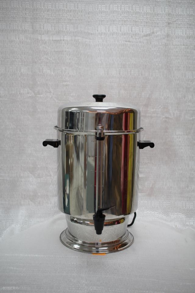 Where to find PERCOLATOR, 110 CUP SS URN in Raleigh
