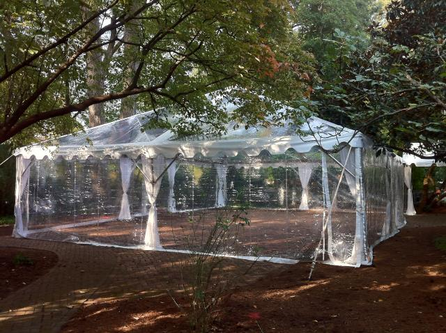 Where to find 20  X 8  CLEAR TENT SIDES in Cary