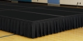 Where to rent STAGE DECK, 4 X 8 BLACK CARPET in Cary NC