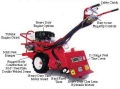 Where to rent TILLER, REAR TINE 9HP BARRETO in Cary NC
