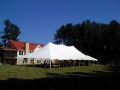 Where to rent 40 x 80   POLE TENT, WHITE-EU in Cary NC