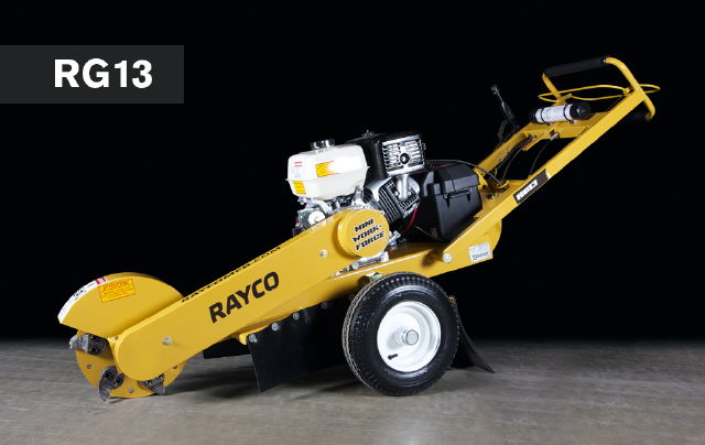 Where to find GRINDER,STUMP MODEL 13HP RAYCO in Cary