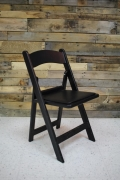 Where to rent CHAIR, BLACK WITH PADDED SEAT in Cary NC
