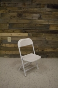Where to rent CHAIR, CHILDREN - WHITE FOLDING in Cary NC