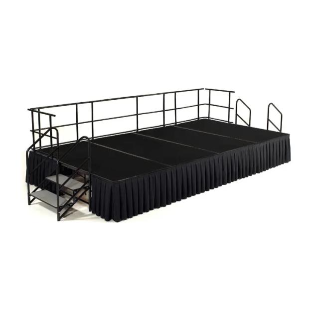Where to find STAGE DECK, 8  X 30  SAFE RAILING in Cary
