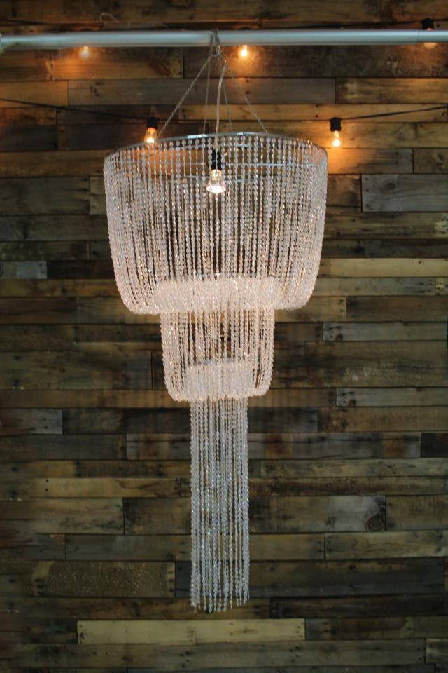 Where to find TENT CHANDELIER, SWAG ACRYLIC BEAD in Raleigh