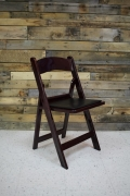 Rental store for CHAIR, MAHOGANY RESIN W  PADDED SEAT in Raleigh NC