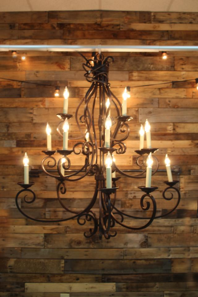 Where to find TENT CHANDELIER, BRONZE 15 LIGHT in Raleigh