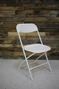 Where to rent CHAIR, WHITE in Cary NC