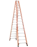 Where to rent LADDER, 16  STEP, FIBERGLASS HD  375 in Cary NC
