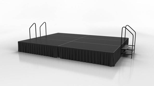 Where to find STAGE DECK, 4 X 8 BLACK RUBBER in Raleigh