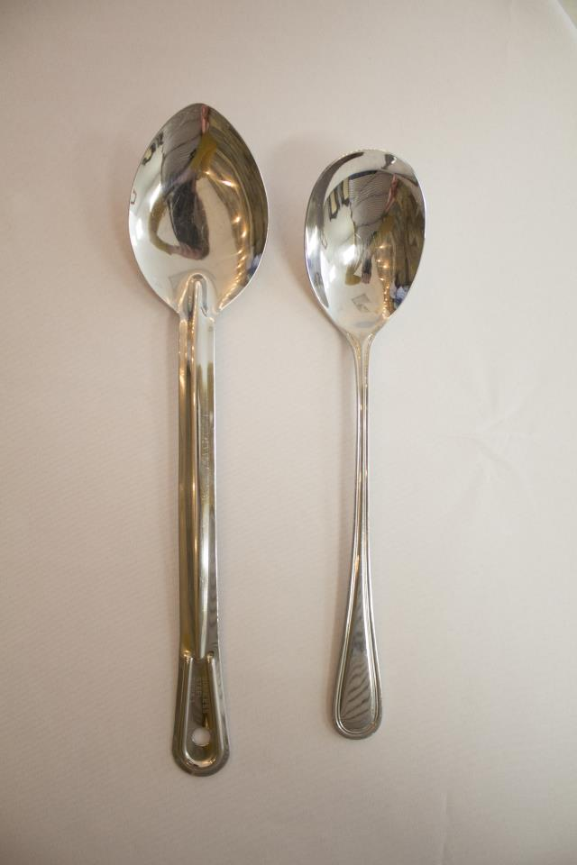Where to find SS SOLID SERVING SPOON in Cary