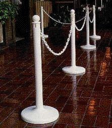 Where to find STANCHIONS, WHITE in Raleigh