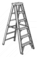 Where to rent LADDER, 6  STEP, ALUMINUM in Cary NC