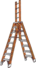 Where to rent LADDER, 10  A FRAME W 6  EXT in Cary NC