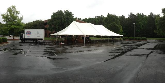 Where to find 40 X 80   POLE TENT, WHITE-TT in Raleigh