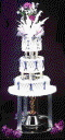 Where to rent FOUNTAIN, 2-TIER, FOR WED.CAKE in Cary NC