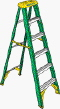 Where to rent LADDER, 10  STEP, FIBERGLASS in Cary NC